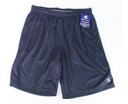 Champion Hombres Pantalones Cortos Azul Marino Tamaño G-1867