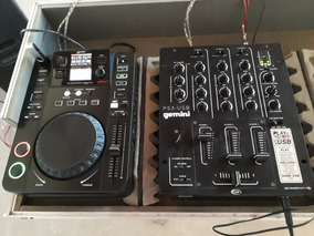 Par De Cdj 650 Gemini + Mixer Ps3 + Case