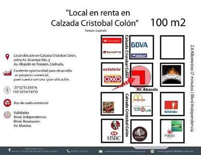 Local En Renta En Zona Centro De Torreon