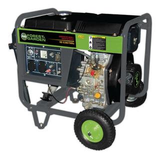 Generador A Diesel 110/220v 3800 Kw Forest Garden