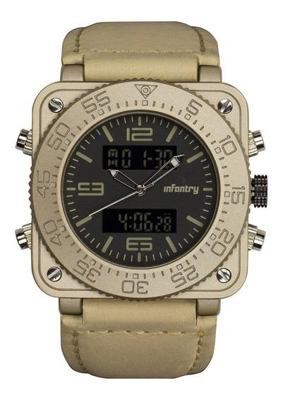 Reloj Militar Infantry Gold De Lujo Edicion Limitada Hombre