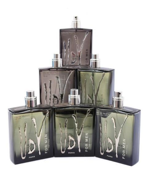 Kit 5 Perfume Udv For Men 100ml Ulric De Varens ( S/ Caixa )