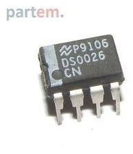 Imagen 1 de 3 de Ds0026 Ds0026cn Ds 0026  Dip8 Dual High-speed Mos Driver
