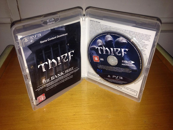 Thief Semi Novo Mídia Física Ps3 Playstation 3 Raro R$73,97