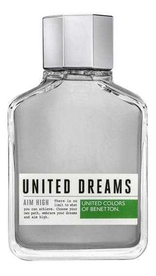 Benetton United Dreams Aim High Perfume Masculino 200ml Blz