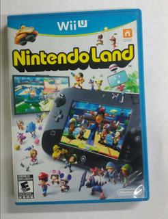 Juego Original Wiiu Nintendo Land, Usado