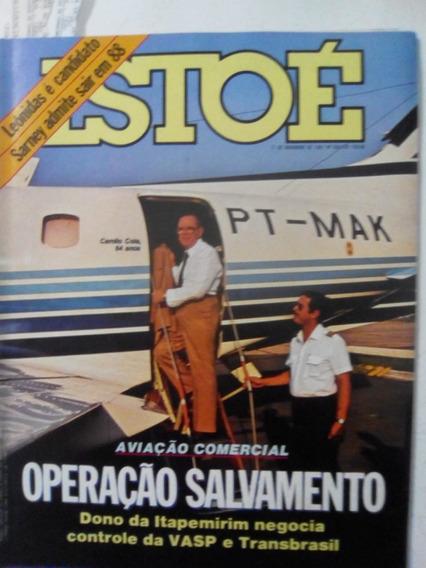Revista Istoé 568 Aviação Buarque Jamelão Tim Maia Gay 1987