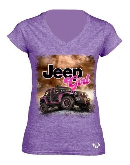 Sarcasmo-playera Jeep Girl Dtg