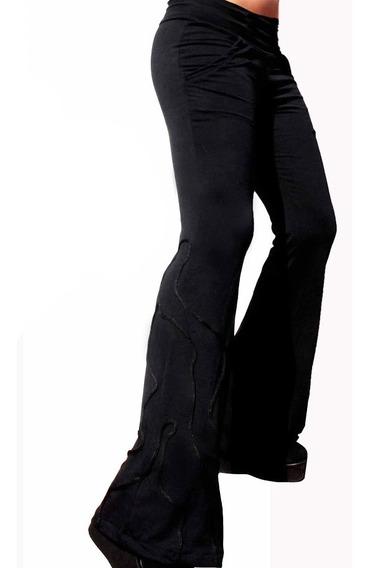 Pantalón Oxford Con Bolsillos Kordon Negro Sónica