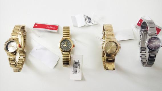 Kit Com 2 Relógios Feminino Originais Lote Atacado Revenda