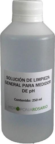 Imagen 1 de 1 de Solución De Limpieza Para Electrodo De Phmetro 250 Ml.