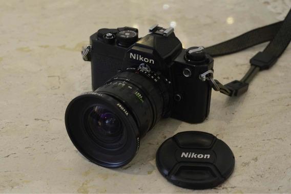 Nikon Fm Com Lente 17-28mm