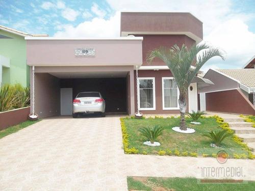 Casa  Residencial À Venda, Portal Dos Pássaros Ii, Boituva. - Ca0941