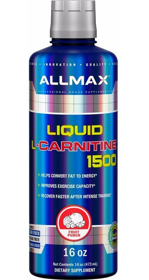 Carnitina Allmax Liquid Carnitine 16 Oz (473 Ml)