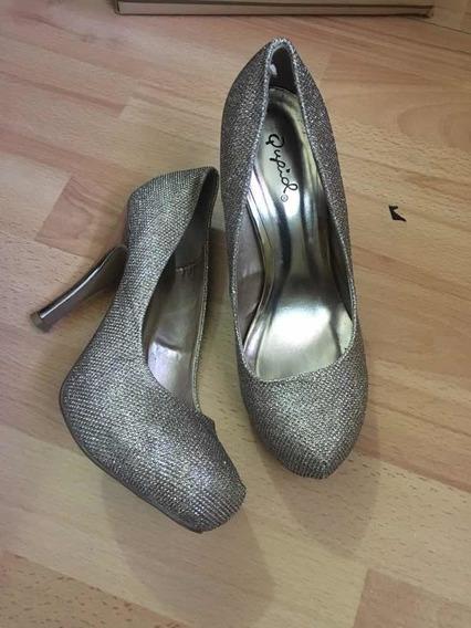 Zapatos De Fiesta , Dorados . Para Traje Formal 10 V