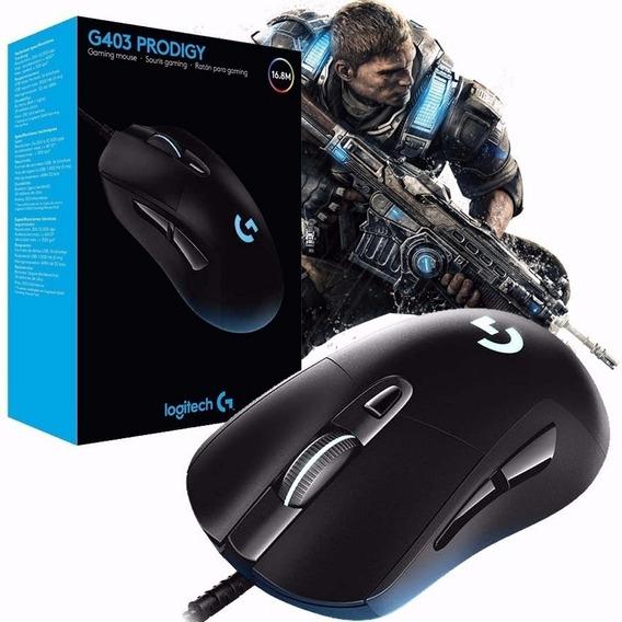 Mouse Para Jogos Programável Logitech G403 Prodigy