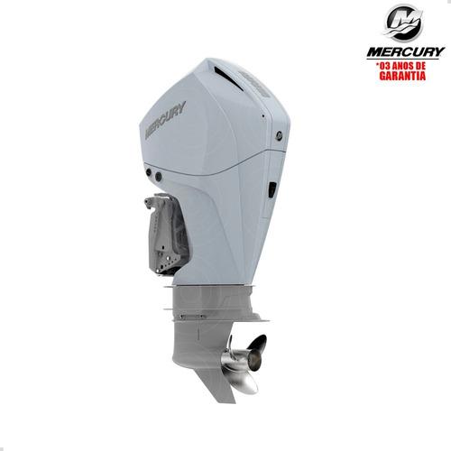 Motor Popa Mercury 4t 225hp L Efi V6 Mecânico Pes Física Bco