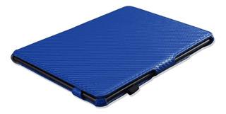 Apple iPad Air/air 2: Estuche Fibra De Carbono Y Cuero 100%