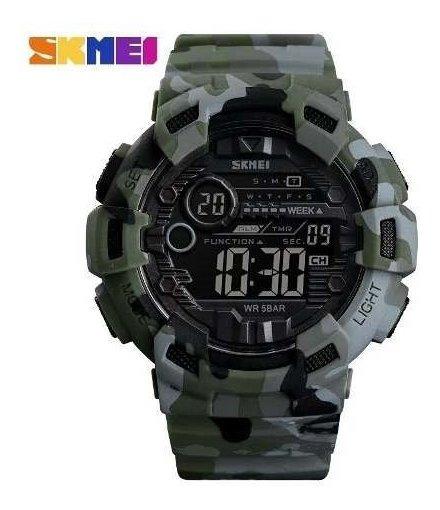 Relógio Skmei 1472 Camuflado Militar Sportivo Frete Gratis!!