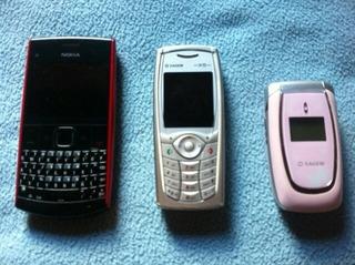 Teléfono Nokia X2-01 / Telefono Sagen Myx5-2v / Sagen Myc5a