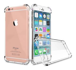 Capinha Silicone Transparente Antichoque iPhone 7 7 Plus