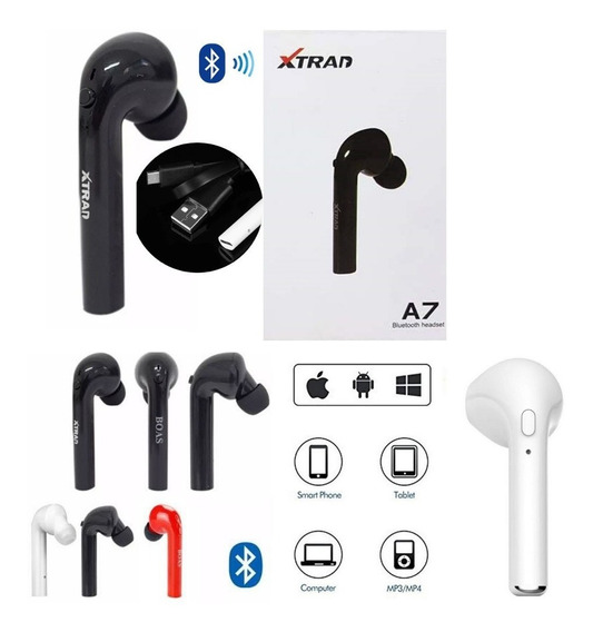 Fone De Ouvido Bluetooth AirPods A7 Apple iPhone Android