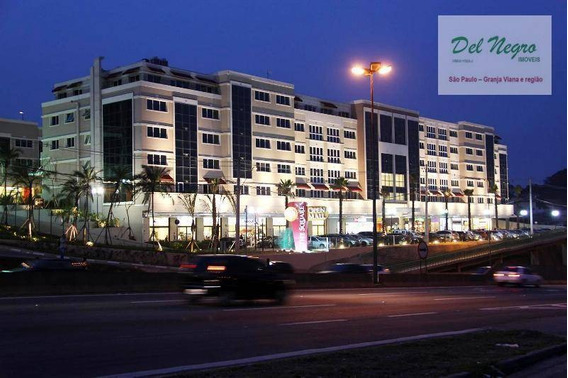 Sala Comercial À Venda, 77 M² - The Square Open Mall, Granja Viana. - Sa0106