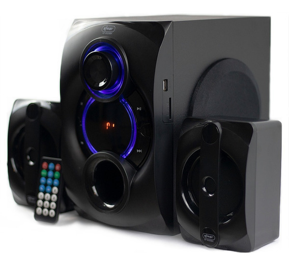 Home Theater 2.1 Mini System Bluetooth 25w Fm Usb Knup 6025