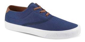 Sneaker Low Top Hombre Azul Marino Azul 2656342 Ferrato