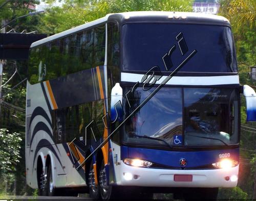 Imagem 1 de 6 de Paradiso 1800 Dd Scania K-420 2008  56 Lug  4 Eixos  Ref 694