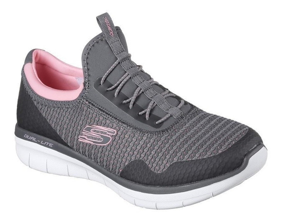 Zapatillas Skechers Synergy 2.0 Mirror Image Mujer Importada