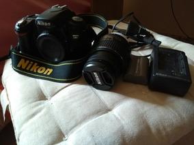 Nikon D80+ Lente Nikor 18-55mm
