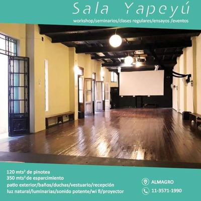 Alquiler Sala De Ensayo Y Salón De Eventos En Almagro Boedo