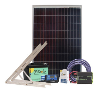 Kit Solar Completo Autoinstalable Energia Panel Usb Led K1