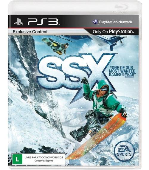 Ssx Ea Sports Ps3 Jogo Original Mídia Física