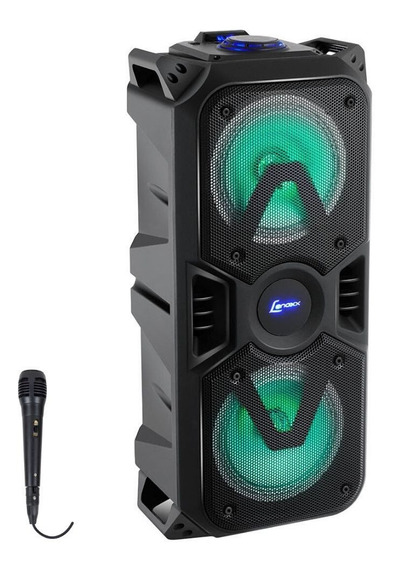Caixa De Som Amplificada Bluetooth 200w Lenoxx Ca400 C/ Mic