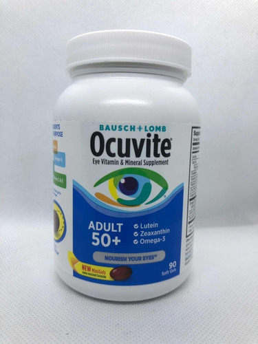 Ocuvite Vitamina Para Los Ojos Eeuu Original