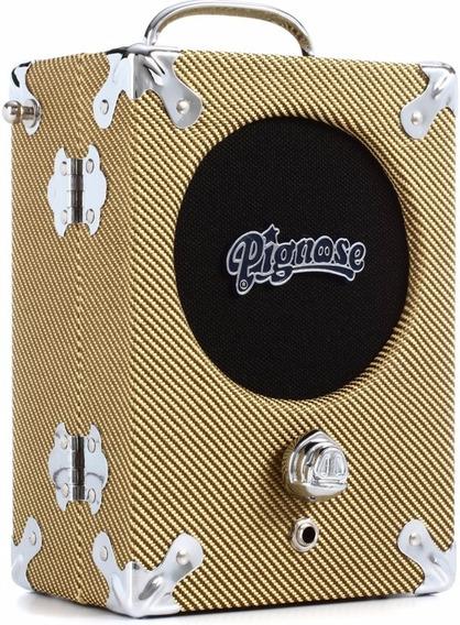 Amplificador Mini Pignose Legendario 7100 Portatil 5 W Tweed