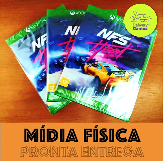 Need For Speed Heat Xbox One Mídia Física Novo Lacrado + Nf