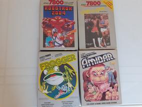 Lote 4 Jogos Originais Americanos Atari 7800 Frete Gratis 12