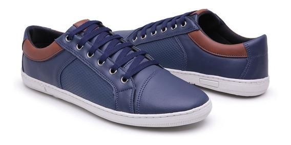 Sapatênis Masculino Tênis Masculino Sapato Masculino Azul