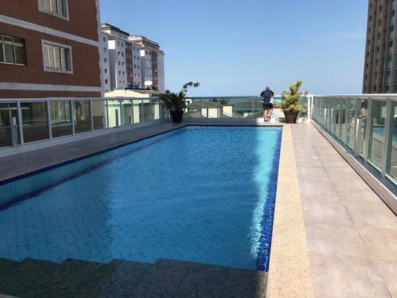 Apartamento Novo Mobiliado Piscina Suite 100m2 Praia Grande