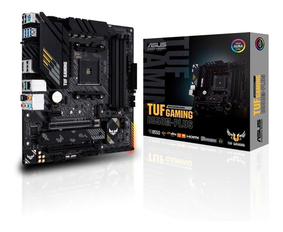 Mother Asus Tuf Gaming B550 M Plus Am4 M2 Rgb U3.2 Crossfire