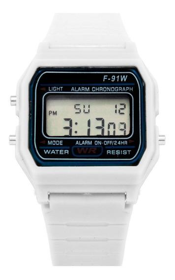 En Blanco Mercado Casio Reloj Relojes Libre F91w México 435RjAL