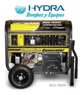 Planta Barnes Portátil Con Motor A Gasolina Modelo Mgg 7800e