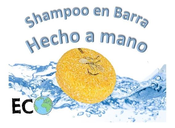 2 Shampoo En Barra Tamaño Jumbo Ingredientes Naturales