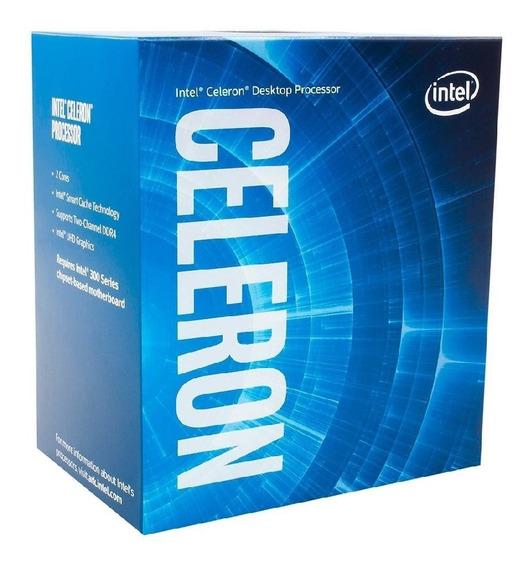 Processador Intel Celeron G4900 Lga 1151 3.1ghz 8ª Geração Devoluçao Dual Core - P/gamer Casa E Escritorio