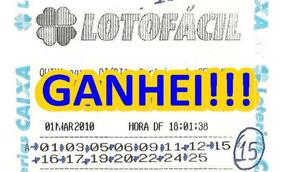 Planilha Lotofacil Sistema Matematico Campeao De Premios