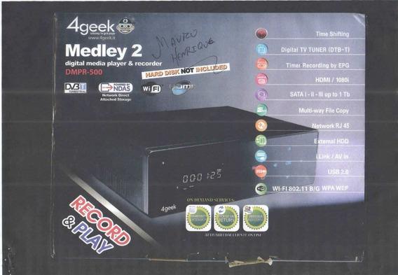 Gravador Digital Medley2 Dmpr-550hd Recorder Hdmi 1080i