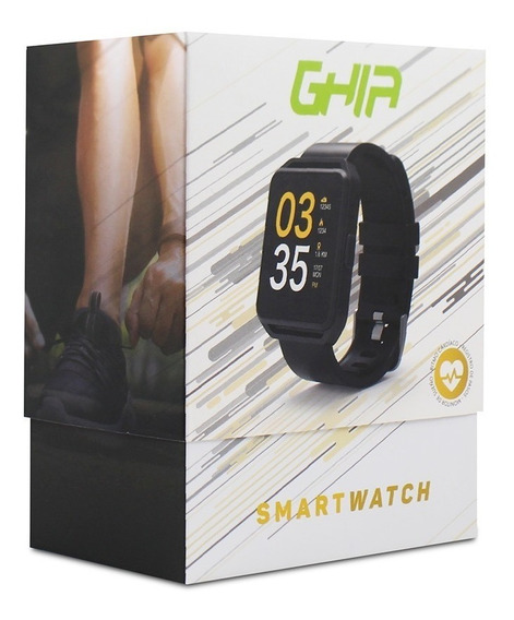 Smart Watch Ghia Pantalla 1.54 Touch Ios Android